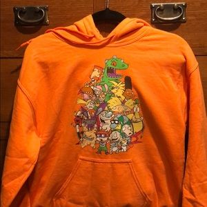 90's Nickelodeon cartoon hooded sweater